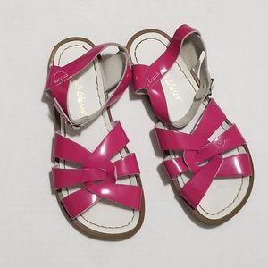 Salt Water 3 Fuschia Pink Classic Buckle Sandals